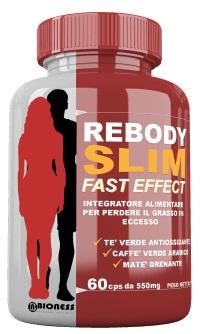 ReBody Slim Fast Effect, Funziona? Recensioni sull'Integratore per Dimagrire