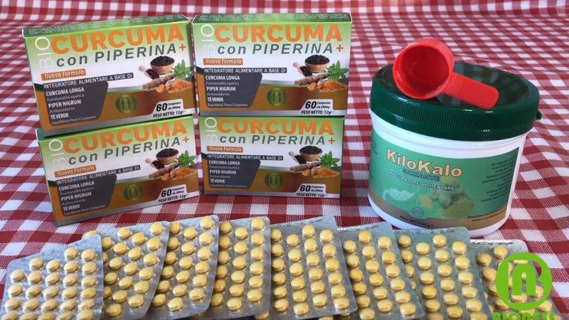 Curcuma e Piperina Integratore Dimagrante Brucia Grassi: Come Funziona e Recensione